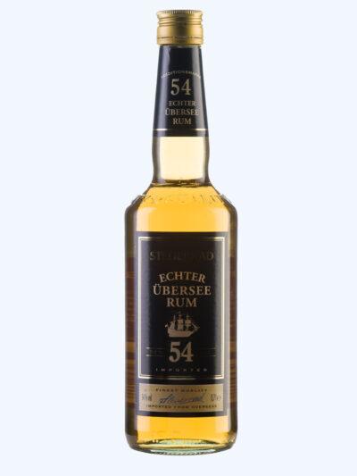 • Echter Rum Steuerrad 54 %